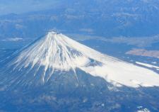 富士山 上空から