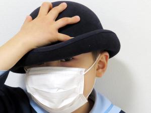 インフルエンザ予防 幼稚園生 マスク